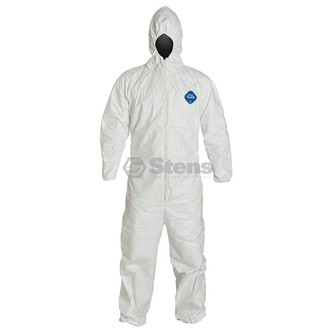 Hooded Tyvek(R), Serged, Elastic, L For Large Hooded (Stens 047-103)
