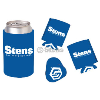 Koozie, Royal Blue w/white logo (Stens 051-186)