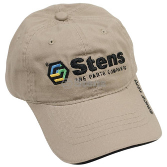 Hat, Khaki with colored logo (Stens 051-188)
