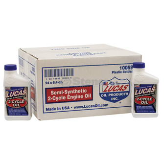 2-Cycle Oil - Semi-Synthetic, 24 Bottles/6.4 Oz (Stens 051-515)