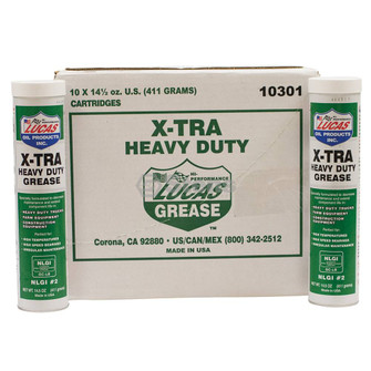 X-tra HD Grease, Case Of Ten 14.5 oz. Tubes (Stens 051-535)