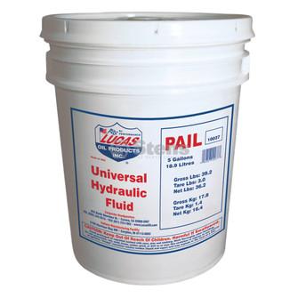 Hydraulic Fluid, Universal, 5 Gal (Stens 051-651)