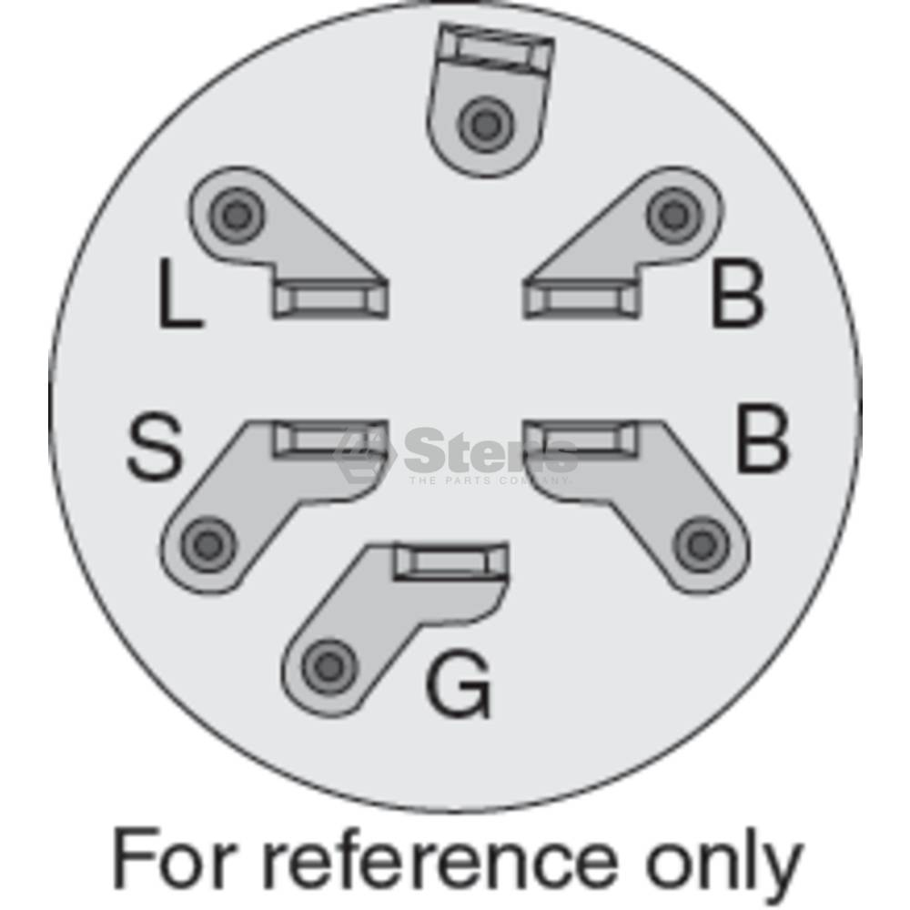 [SCHEMATICS_48EU]  430-161 Ignition Switch   Indak Key Switch Wiring Diagram For A      Stens