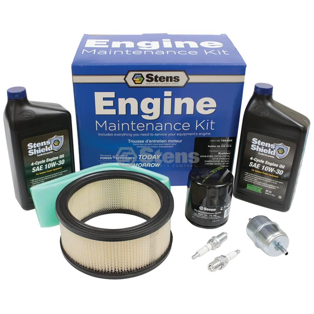 Stens #785-608 Engine Maintenance Kit also Kohler 24 789 02-S Kohler CV18-CV25